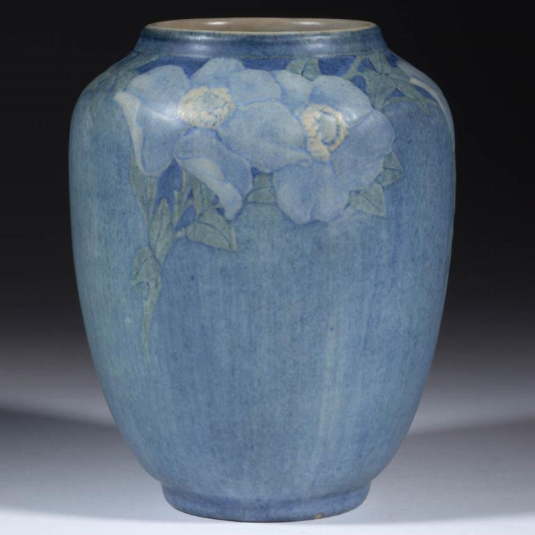 Newcomb College vase, one of several examples
