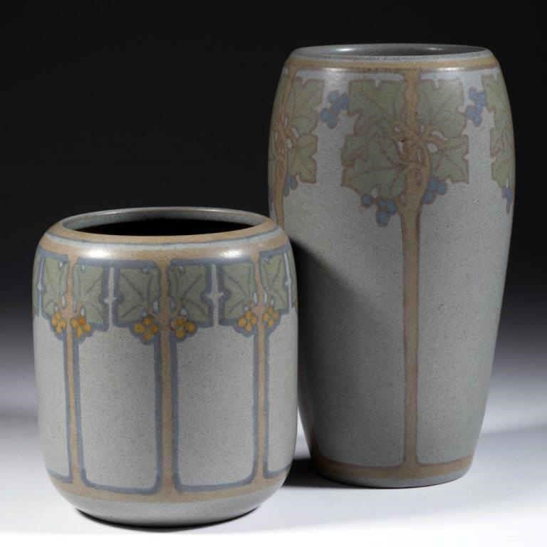Arthur Hennessey and Sarah Tutt for Marblehead. from a fine selection of American art pottery from the Litle Collection