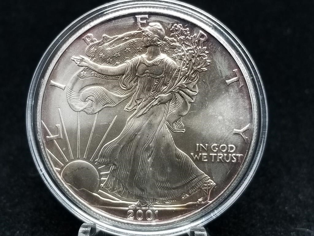 Tons of Silver Coin Auction