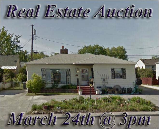 Kennewick Real Estate Auction March 24th @ 3pm (PST)
