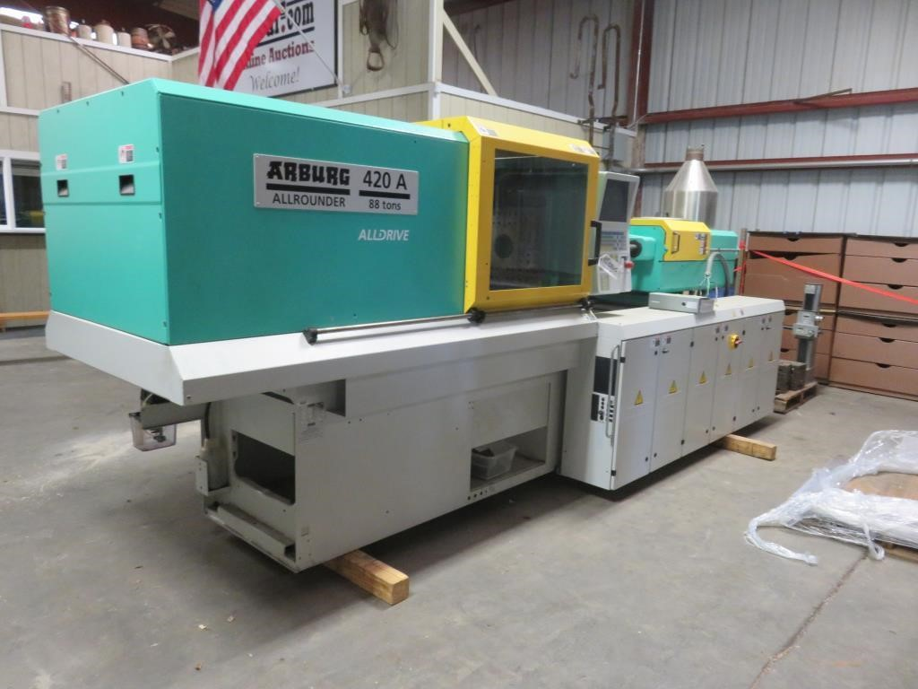 Injection Molder Auction