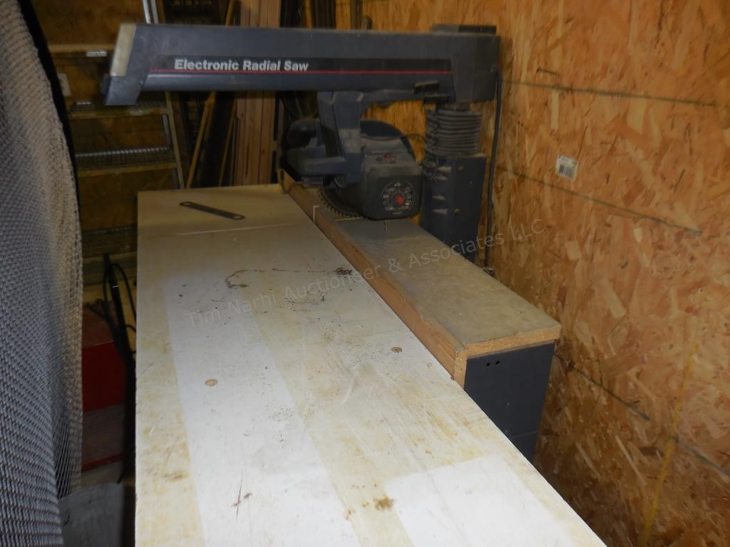 Electronic Radial Arm Saw