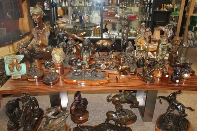 Very nice Collection of Bronzes!