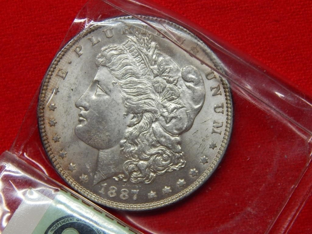 Weekly Coins & Currency Auction 8-10-18