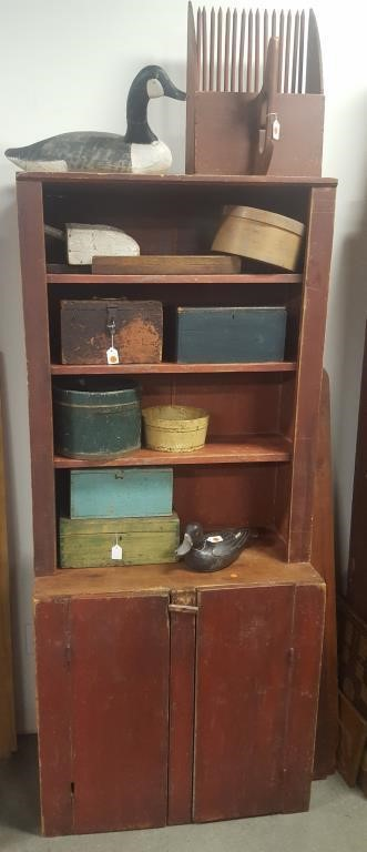 Part one of a Williamsburg, VA private collection of country furniture & accessories