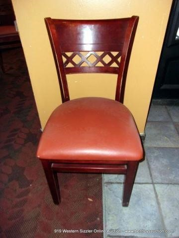 CHERRYWOOD STYLE & CUSHION DINING CHAIR