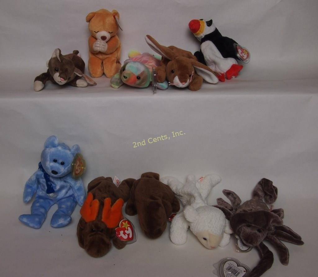 Huge Beanie Babies Online Only Auction