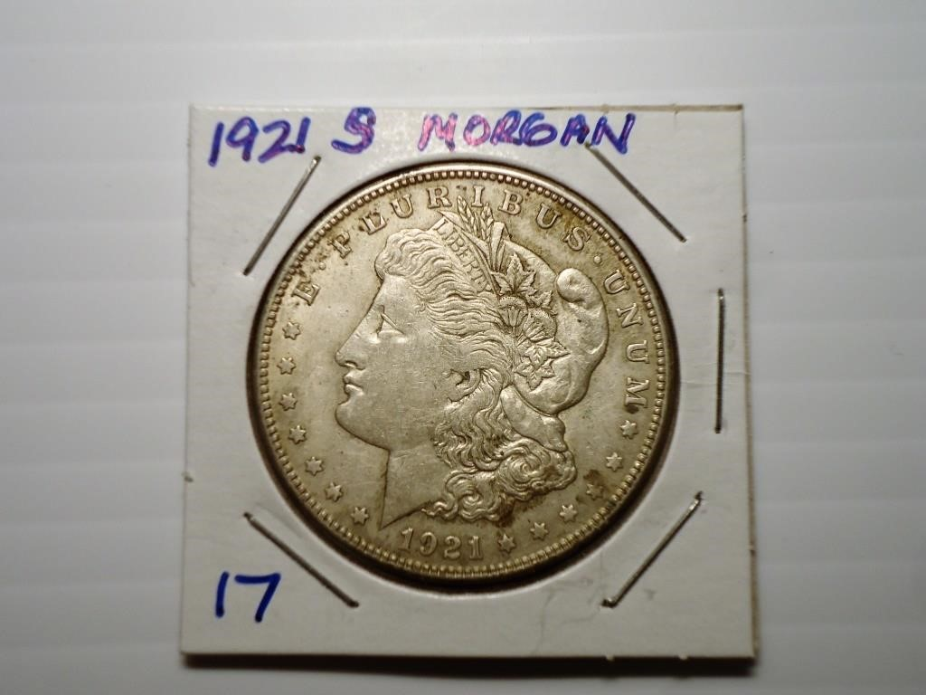 Two Generation Coin Auction - Live & Online
