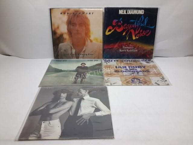 """Online Only """"Vinyl Rules"""" Auction # 1357"""
