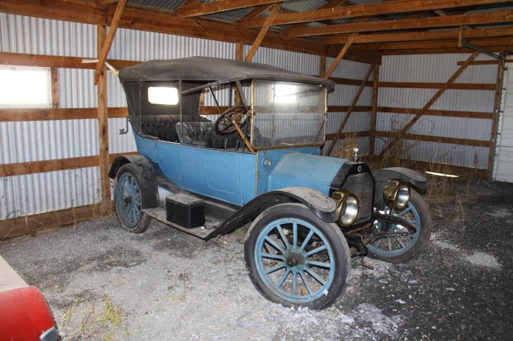 1913 Buick Model 25 Touring Car, from the Harshbarger estate, one of a select group of antique vehicles to be sold