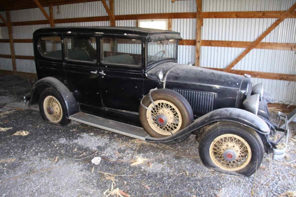 1927 REO Flying Cloud, from the Harshbarger estate, one of a select group of antique vehicles to be sold