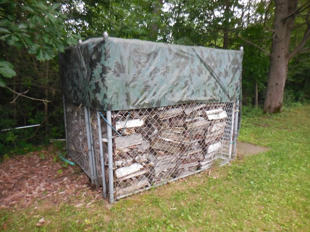 Dog Kennel & Firewood