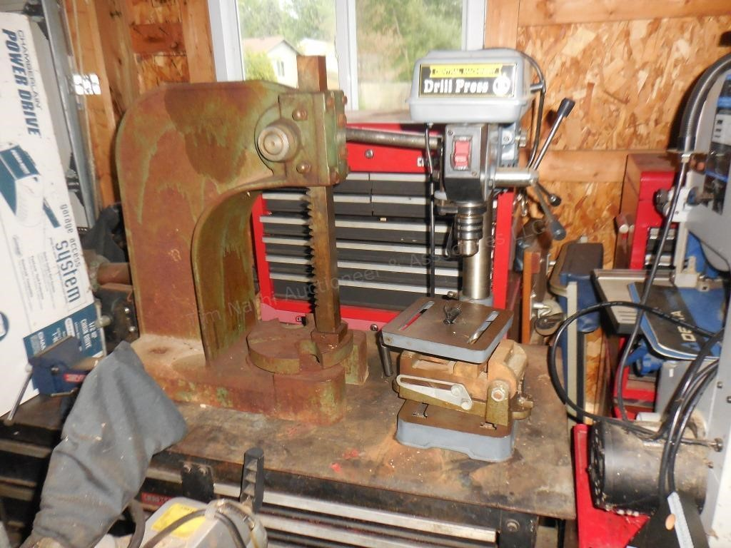 Jet Arbor Press & Bench Top Drill Press