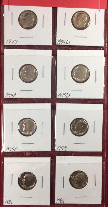 7.8.18 Coin & Silver Auction