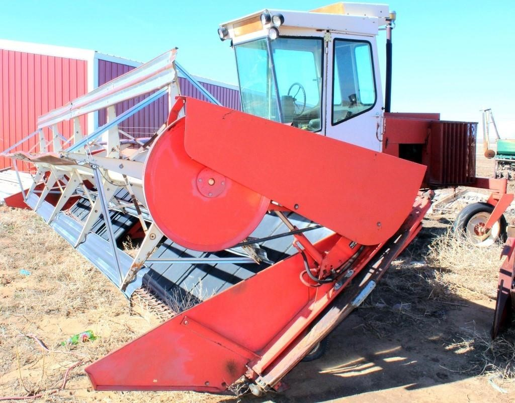 Hesston 6400 SP Windrower (view 3)