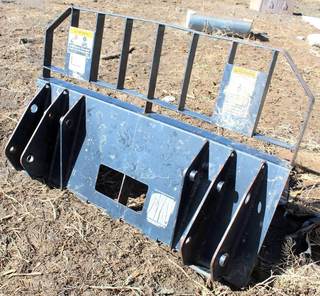 Skid Steer Attachment Plate