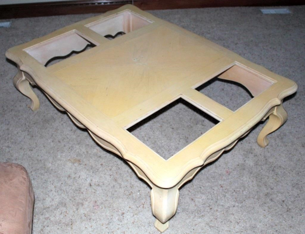Coffee Table (glass pcs not shown)