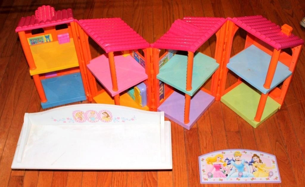 Fold Up Doll House, Disney Wall Deco