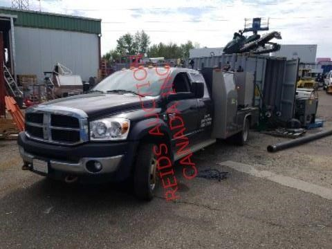 2009 RAM 5500  DIESEL WELDING TRUCK WITH ONLY 70,000 KMS