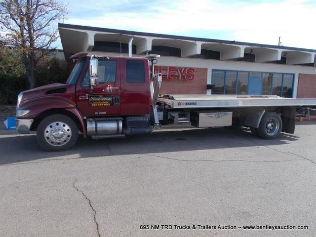NMTRD Seized Tow Truck Online Auction, July 13, 2018 | A786