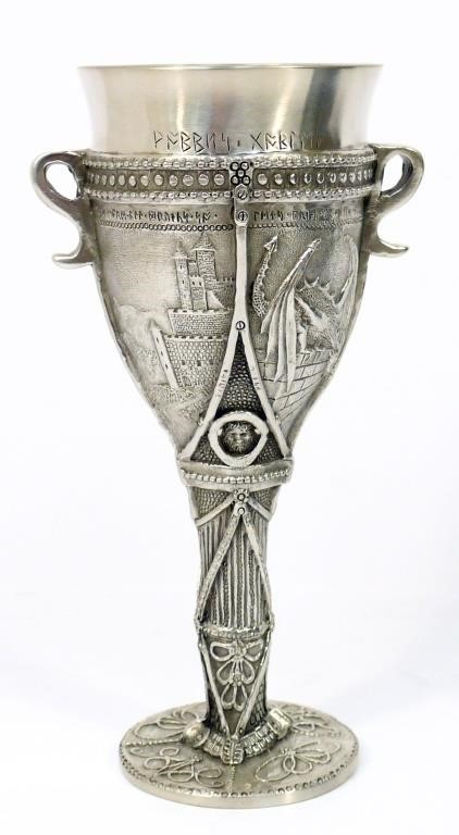 Royal Selangor Lord of the Rings Pewter Goblet