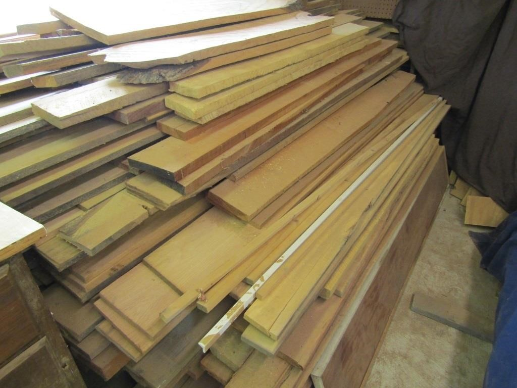 Large lot of Cured Wood Mixed Long Boards