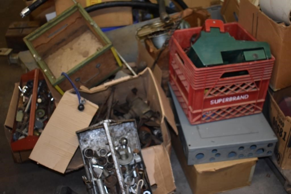 Old Tools, Boxes, Bring Your trucks!!