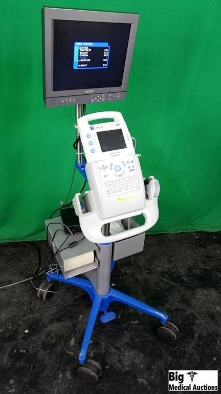 Sonosite 180Plus Ultrasound System (Doesn't Fully