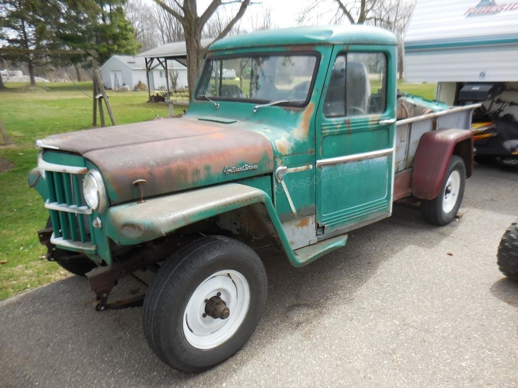 1963 Willys Jeep (project, runs)