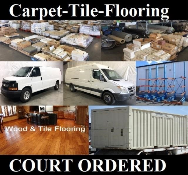 Commercial Carpet & Tile Auction by Court Order # 2 - May 17