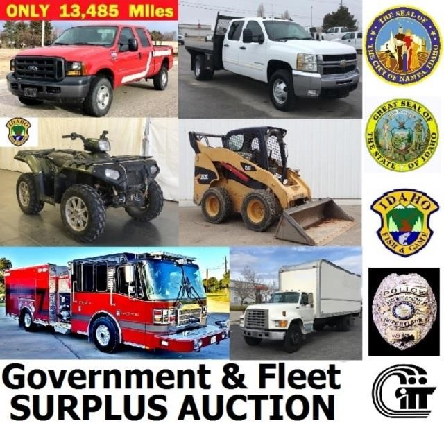 3/28/19 - 6pm - Government & Fleet Surplus Auction