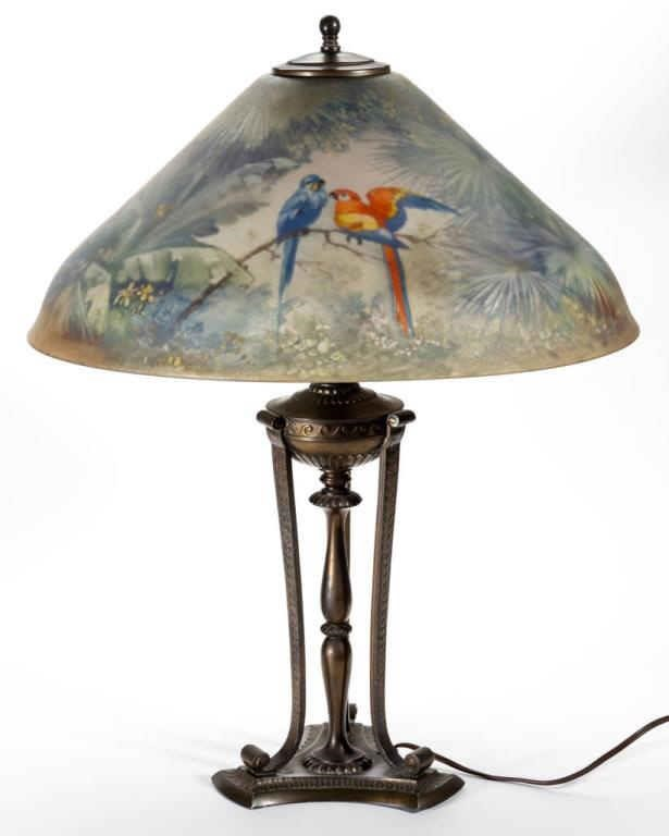 Pairpoint lamp and other lighting