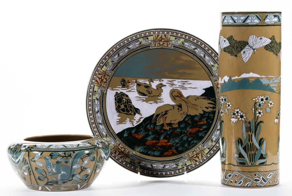 Rare Buffalo Pottery from the Rosenquist Collection
