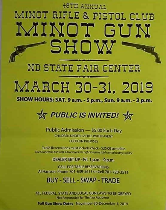 Minot Gun Show Online-only Auction