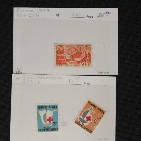 April 14, 2019 Weekly Stamp & Collectibles Auction