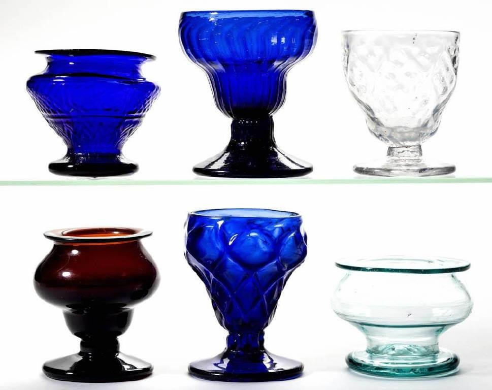 Free-blown and pattern-molded salts