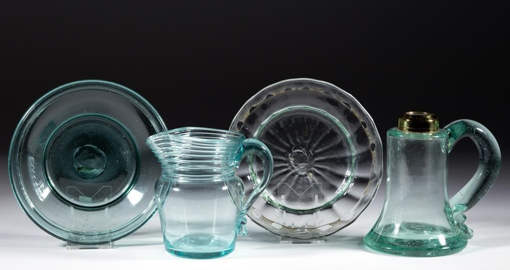 New England free-blown and pattern-molded wares