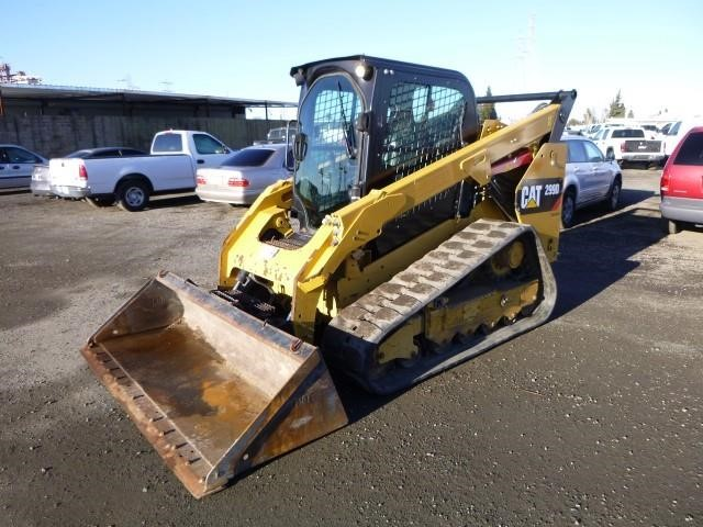 2015 Caterpillar 299D Skid Steer Track Loader
