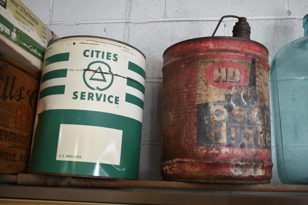 Cities Service 5 Gallon Can