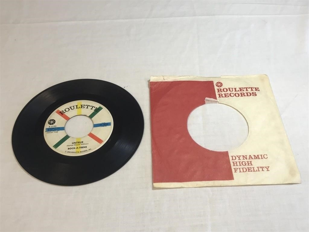 Jexters Timed Online Record Auction - 3/23/19