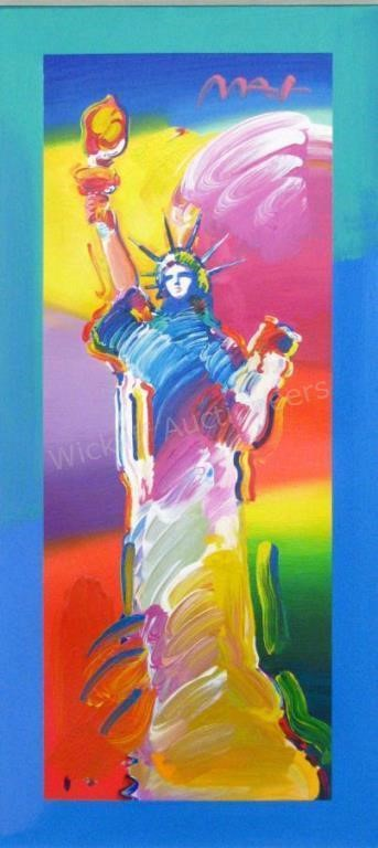 Peter Max, Acrylic