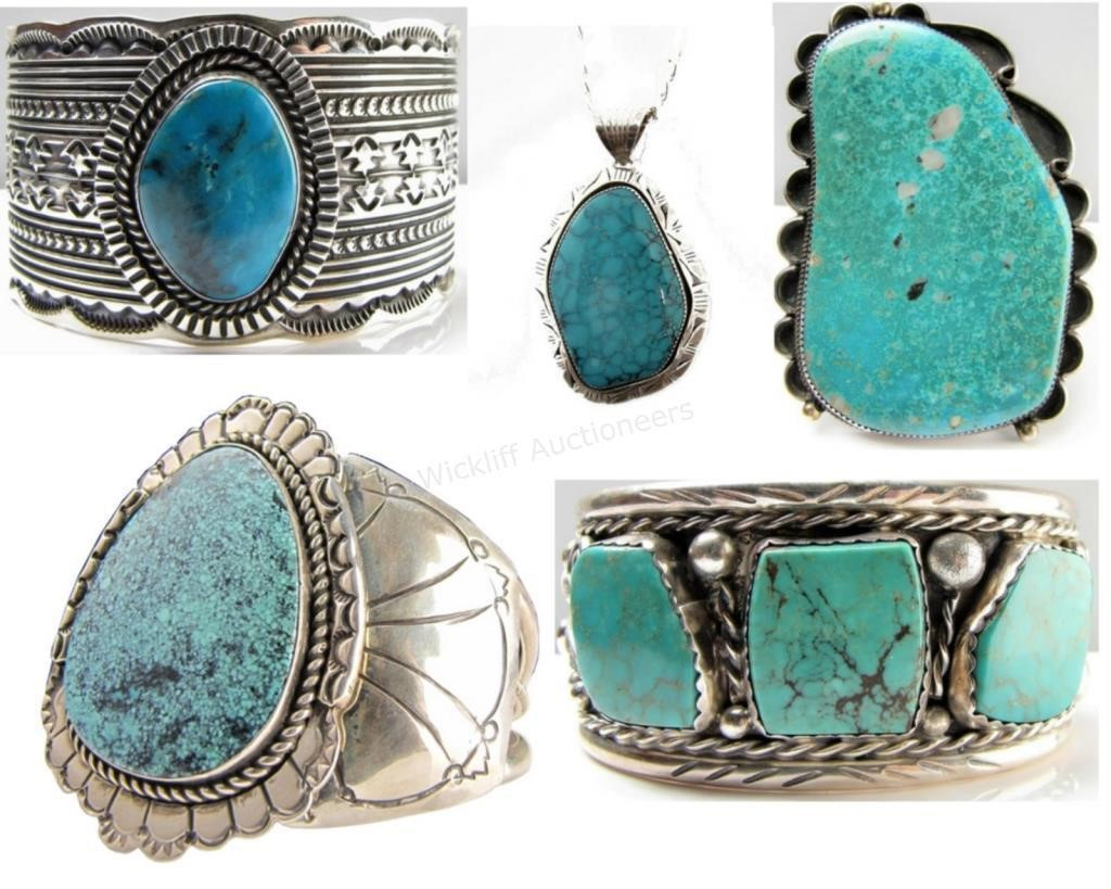 Collection of SW/Native American Jewelry