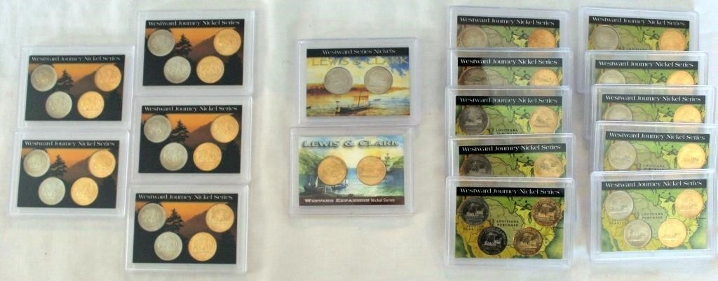 Misc Nickles  - 4 & 2 Coin Sets