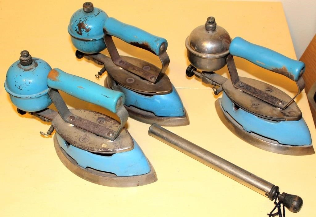 Old Gas Irons