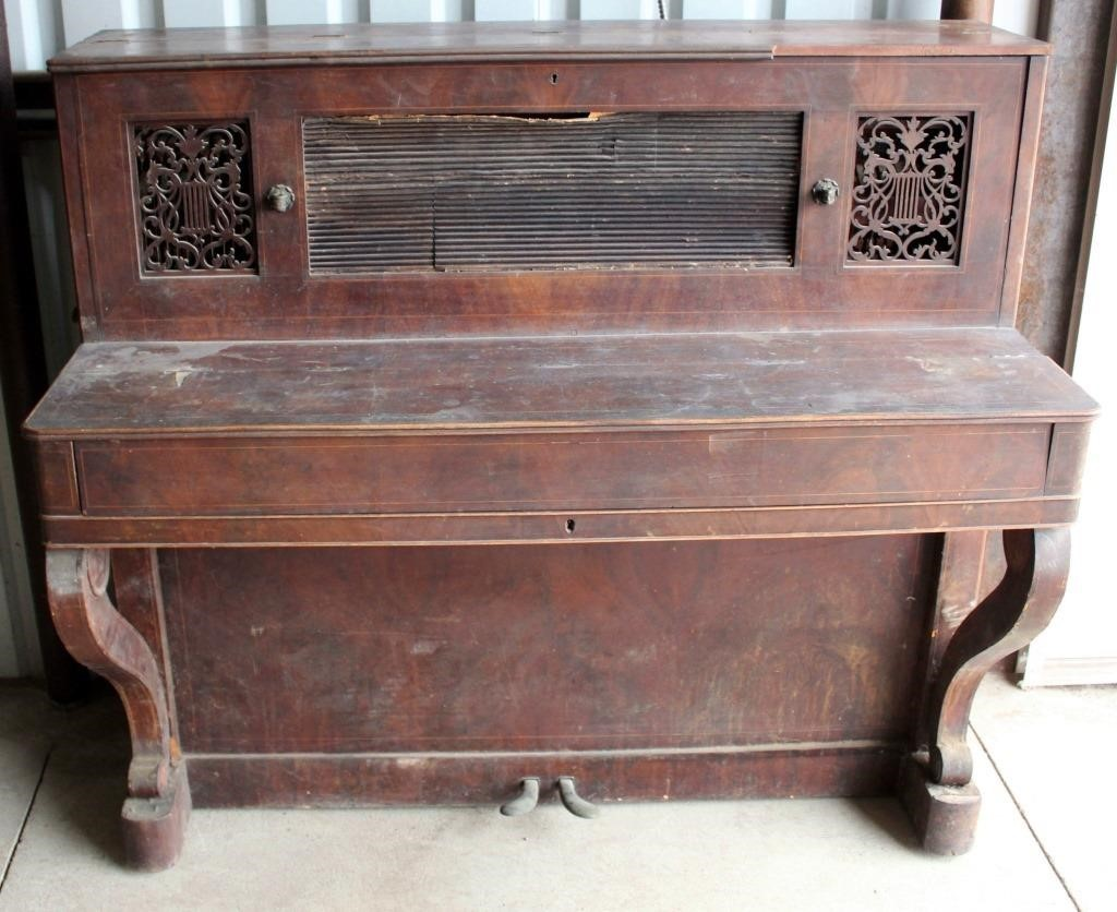1820's Rinaldi Piano (rough shape, came over on ship from France)