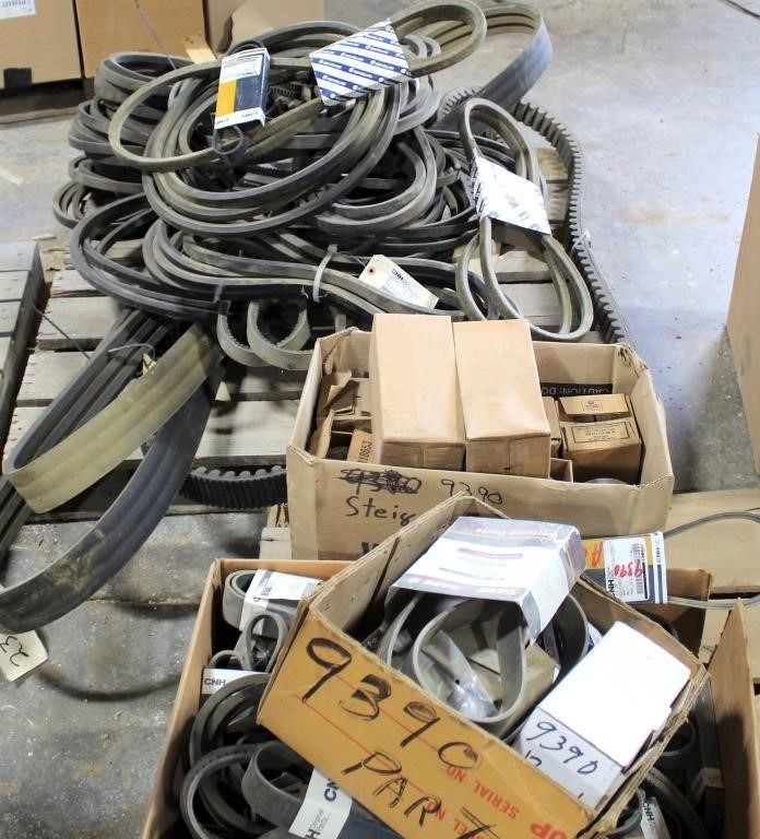 Misc Tractor Parts, Belts
