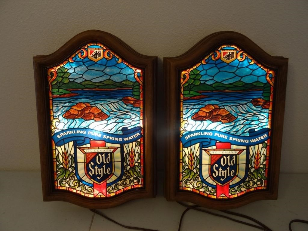 Beer Signs, Advertising Collectibles & Personal Property