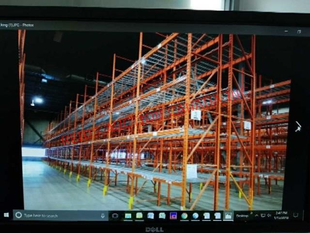 CALGARY JAN 23 2018 10 AM PALLET RACKING AUCITON