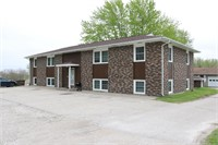 Online Only Real Estate Auction *4 Unit Brick Apt Bldg*