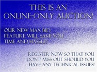 Online-Only McCauley Auction